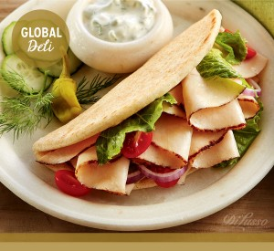 Global Deli – Greek Chicken Pita