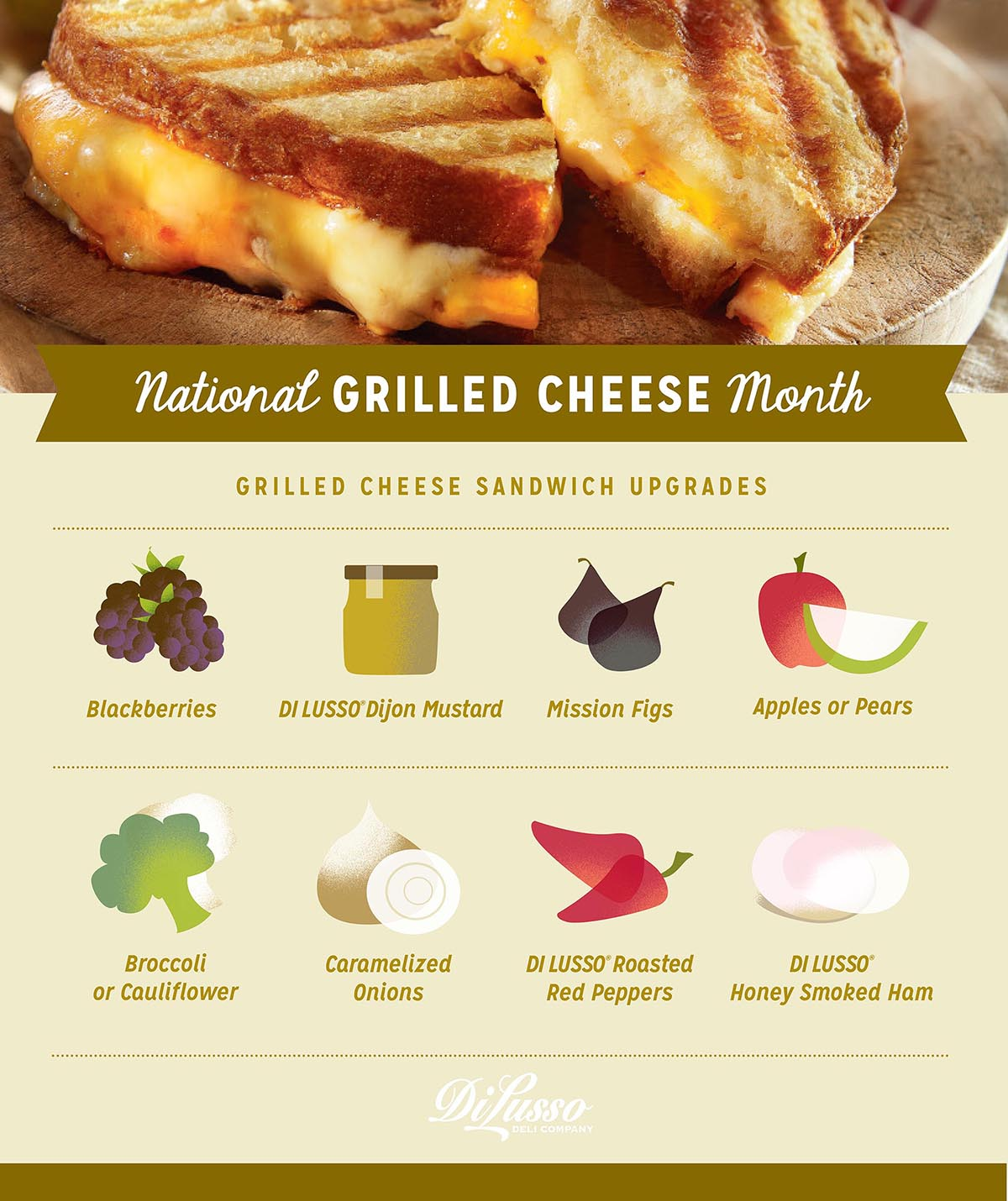April is National Grilled Chese Month