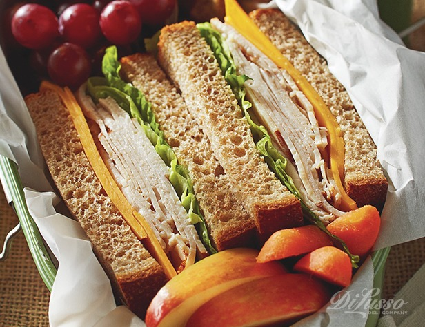Turkey and Cheddar Sandwiches