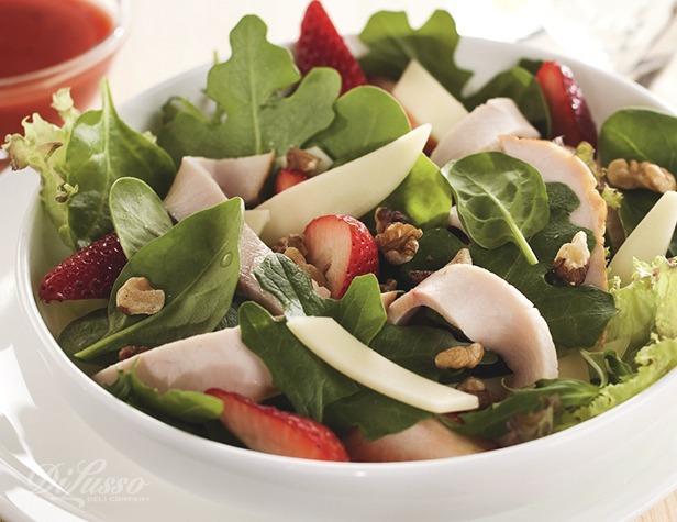 Turkey and Strawberry Salad