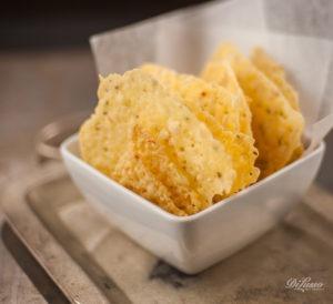 Baked Deli Cheese Crisps