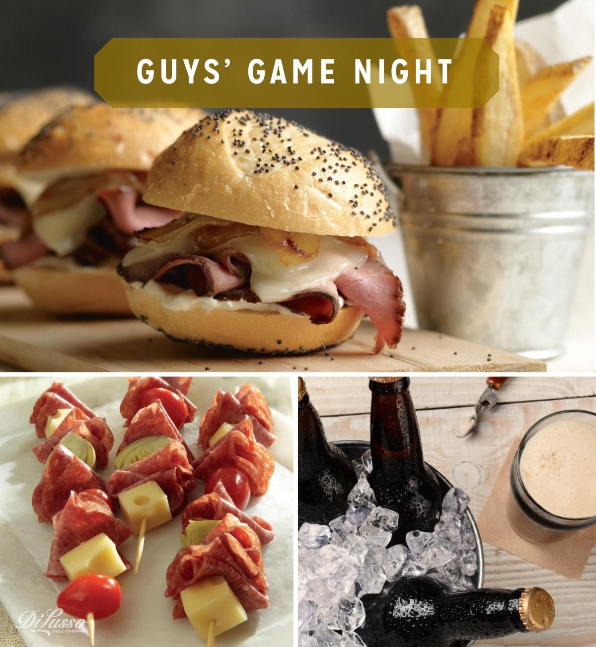 Guy's Game Night