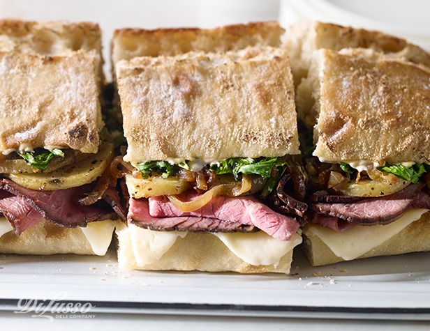 Roast Beef & Potato Family Ciabatta