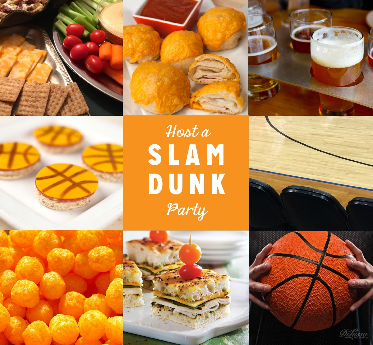 Host a slam-dunk basketball party