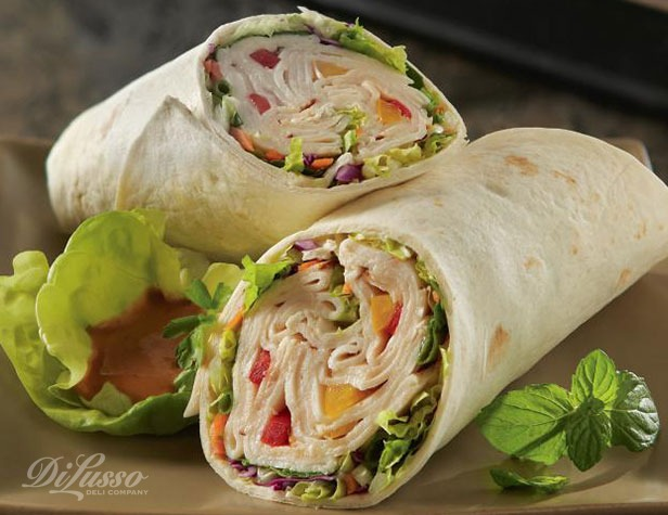 Try some Asian flavor with our Thai Basil Wrap —a tantalizing combo ...