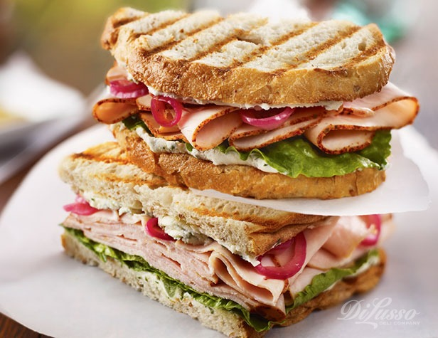 Tower Turkey Panini