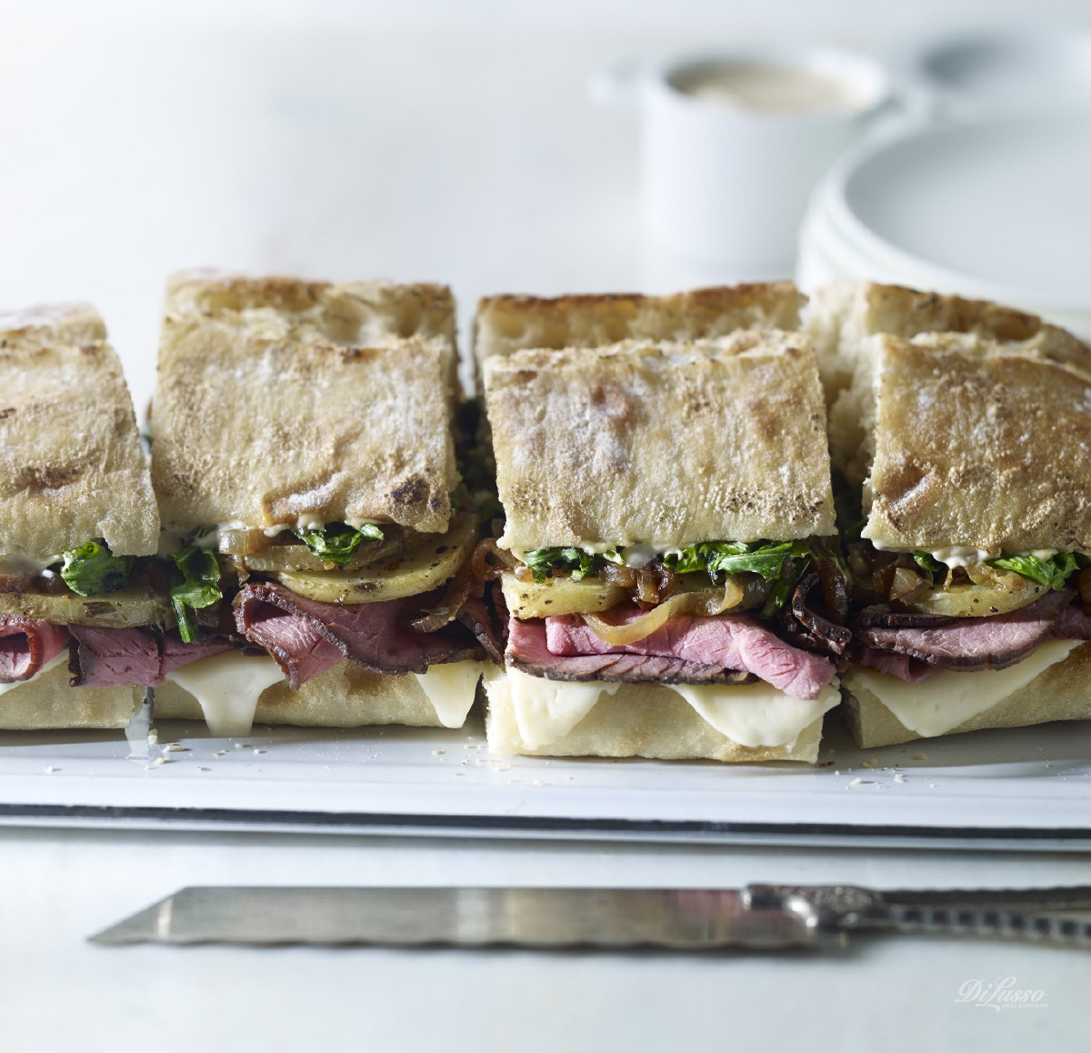 Di Lusso for Dinner: The Family-Size Sandwich