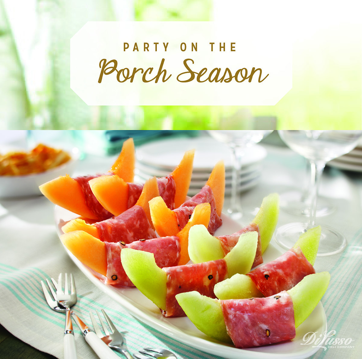 It's officially Party on the Porch season!