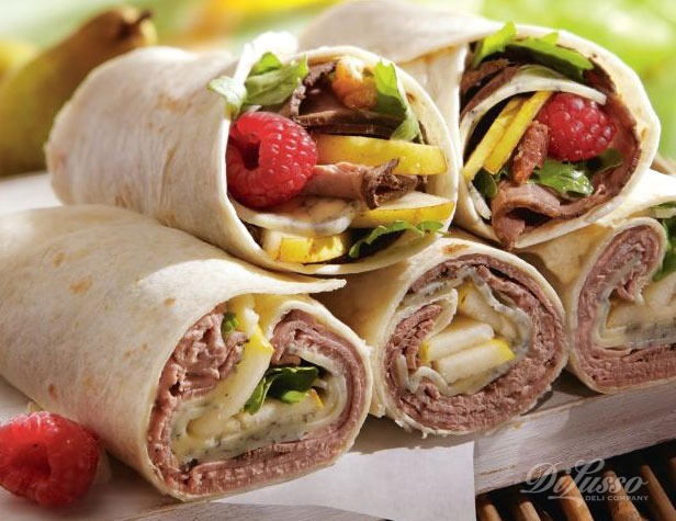 Monterey Blue and Roast Beef Wrap