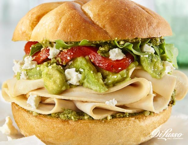 Applewood Chicken Pesto Sandwich