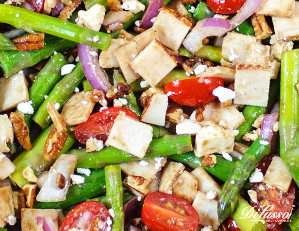 Asparagus, Feta & Chicken Salad