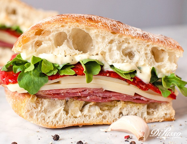 Toasted Sopressata Sandwich