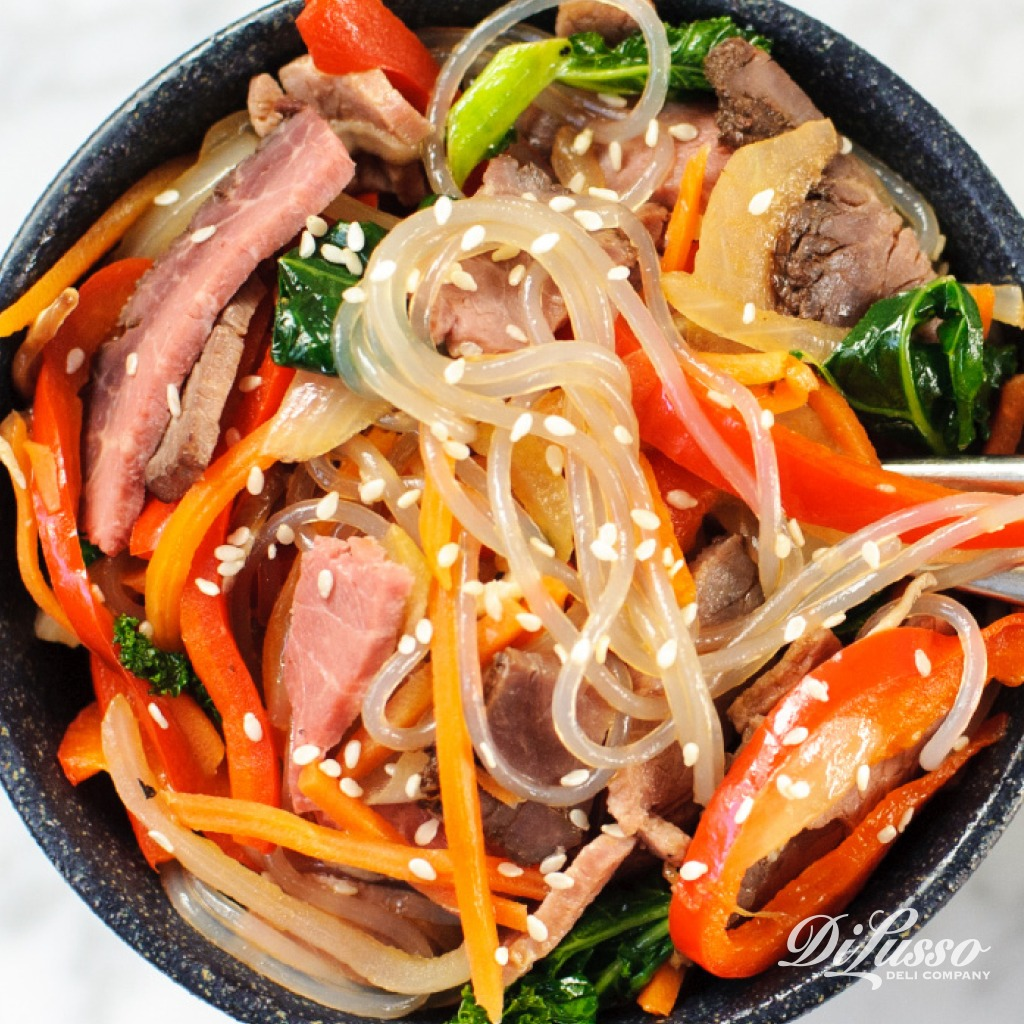 Korean Glass Noodle Stir Fry