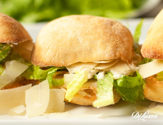 Caesar Salad Sliders