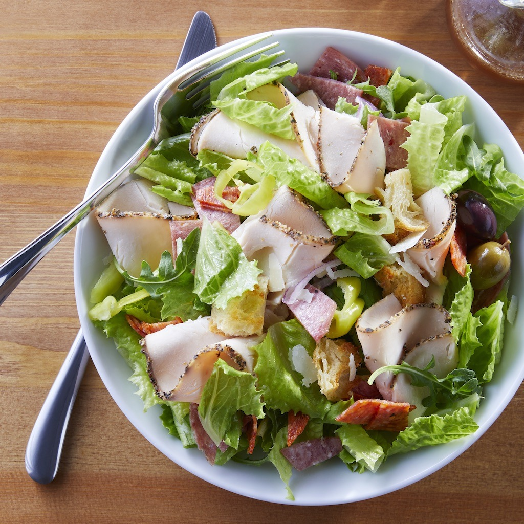 Italian Style Roasted Turkey Salad