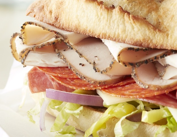 Italian Style Roasted Turkey Sub Sandwich
