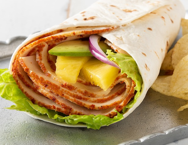 Sweet & Spicy Chicken Wrap