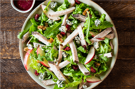 Cranberry Sage Turkey Seasonal Salad