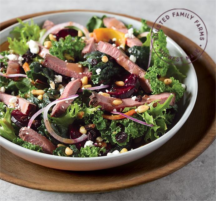 Winter Beef Salad