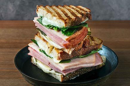Ham & Turkey Panini